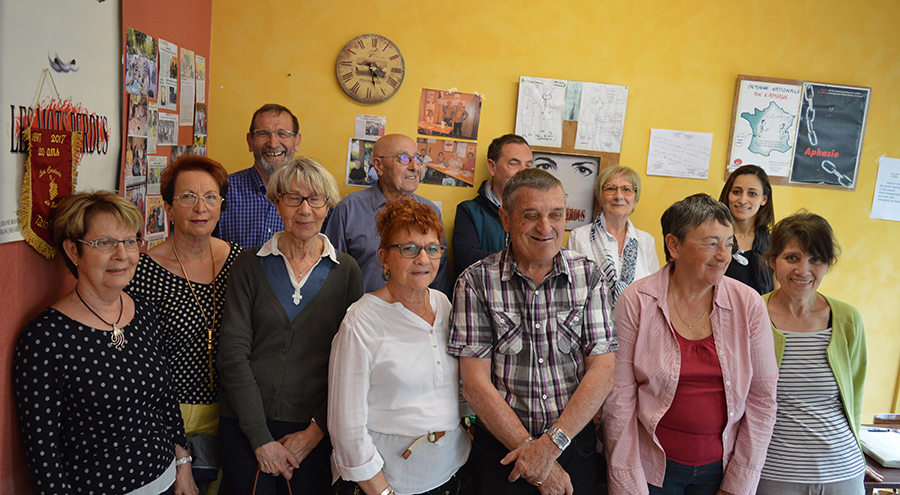 Les adhérents du Roseau lors de l'Assemblée Générale du mois de mai 2018