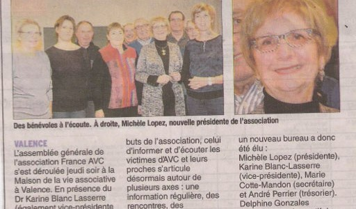 L'Assemblée Générale de France AVC