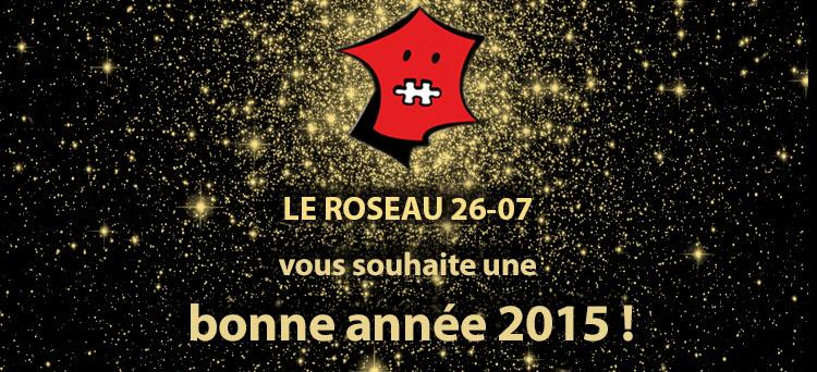 le roseau vous souhaite une belle année 2015
