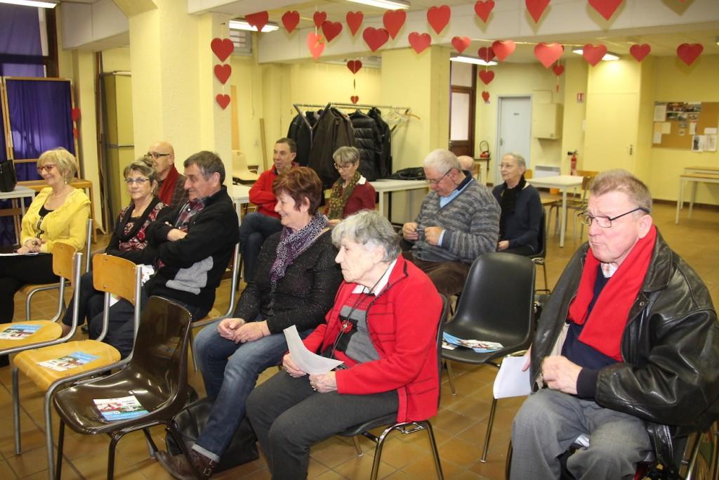 Les bénévoles et membre de l'association Le Roseau ont reconduit le bureau