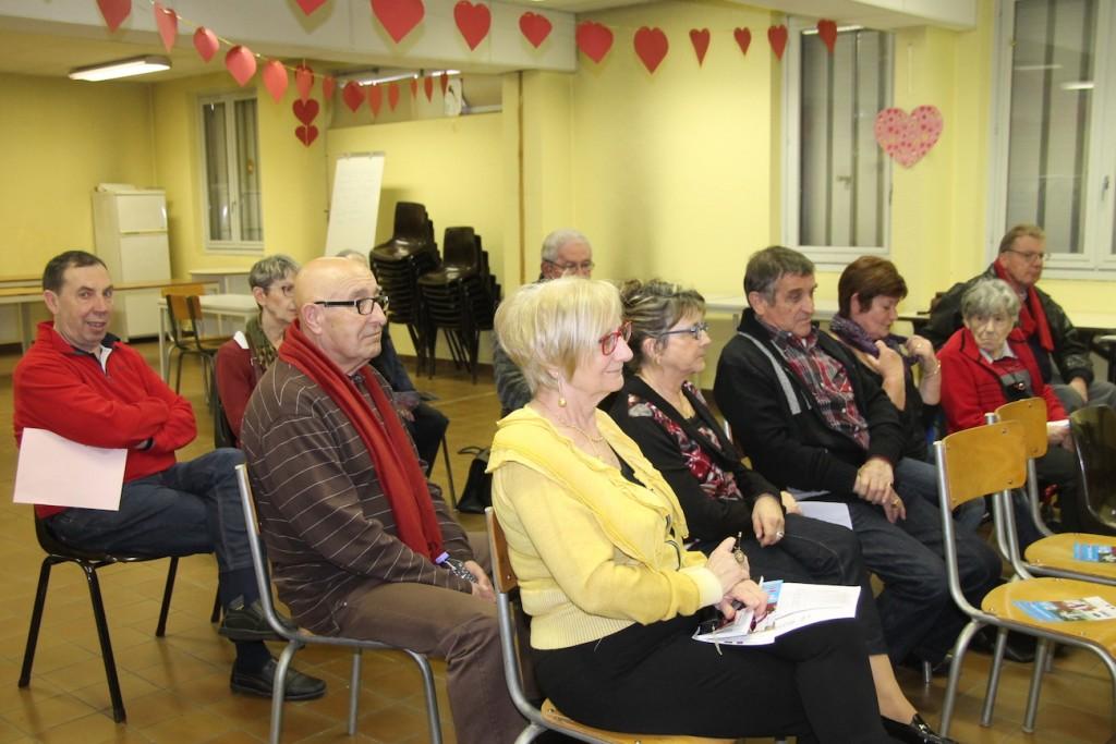 les membres du Roseau sont venus assister à l'assemblée générale le 21 mars dernier