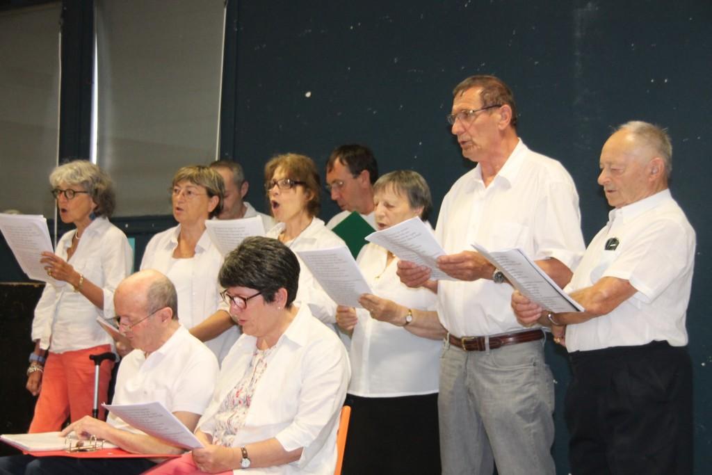 Après deux ans d'efforts, les bénévoles du Roseau ont interprété leurs chansons