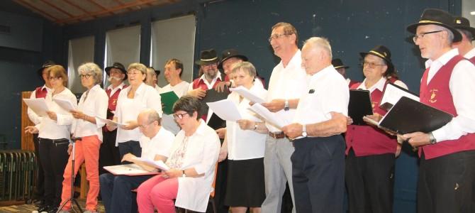 Le Roseau fait son concert avec Les Cadets de Bacchus