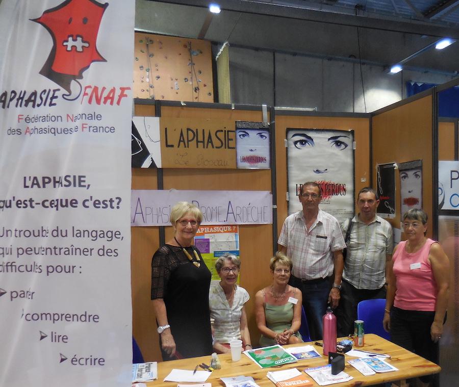 le bureau du Roseau au forum des associations de Valence le 10 septembre 2016