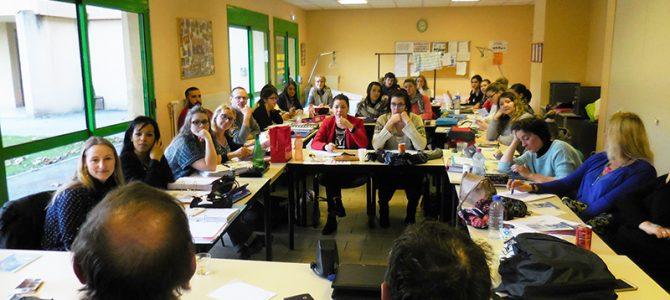 Conférence à l'hôpital de Tournon