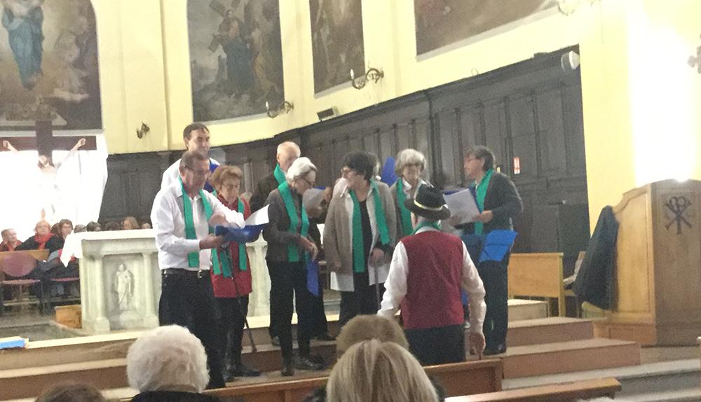Le Roseau en concert à l'Eglise de Tain
