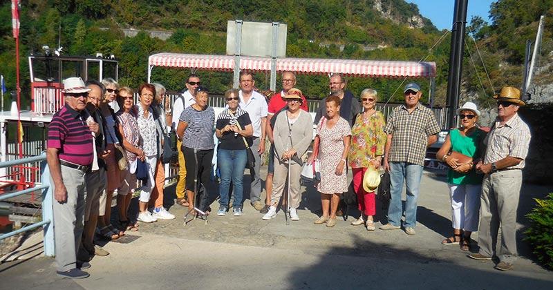 Le mois de septembre a aussi été marqué par une sortie à St Nazaire en Royans pour Le Roseau