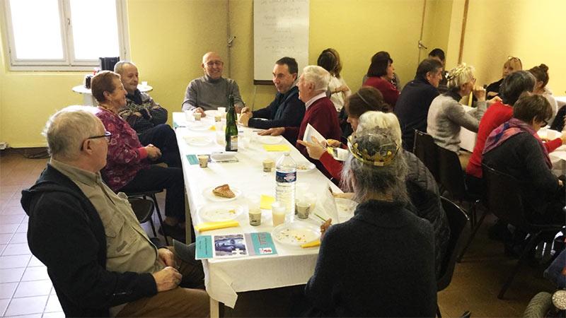 Le samedi 19 janvier 2019 avait lieu la traditionnelle après-midi galette du Roseau.